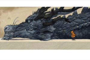 寺田克也の「猫とドラゴン」~東京都美術館展示作品(2012年)~
