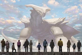 幻獣神話展Ⅱメインビジュアル
