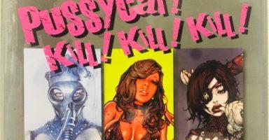 画集『PUSSYCAT! KILL! KILL! KILL! 』の表紙