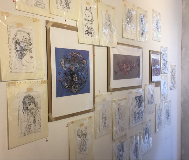 寺田器セカンドシーズンの原画展示