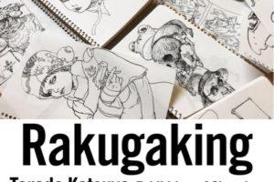 【2018年12月】ロサンゼルスで寺田克也個展「Rakugaking」