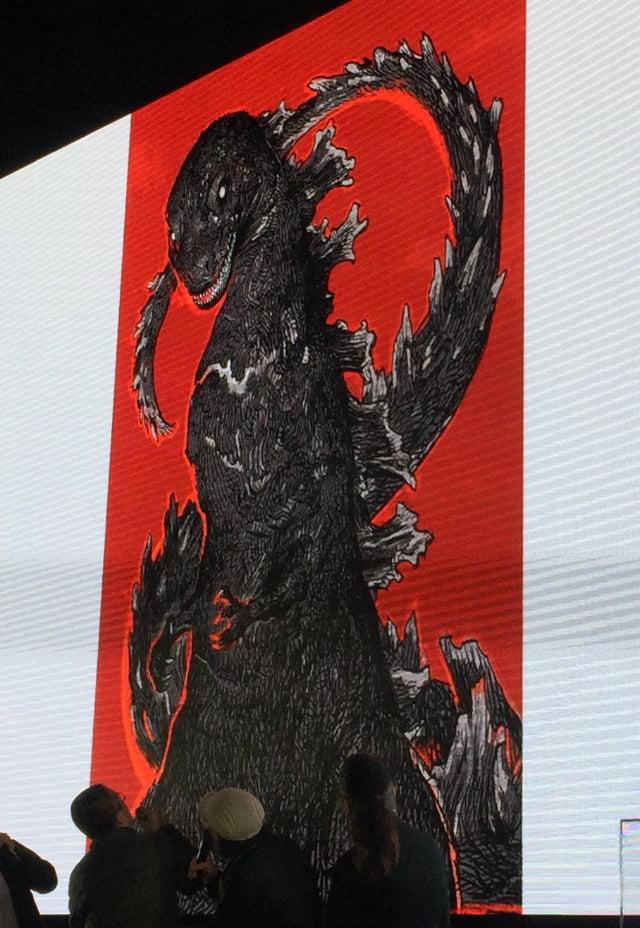 寺田克也さん描き下ろしゴジラ