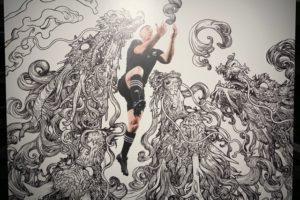 「#CreatorsUnite」adidas×ラグビーアートプロジェクト