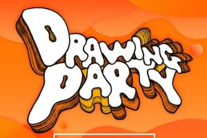 「DRAWING PARTY」寺田克也×conixライブドローイング配信