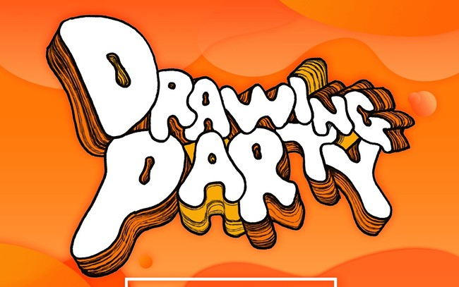 drawing partyロゴ