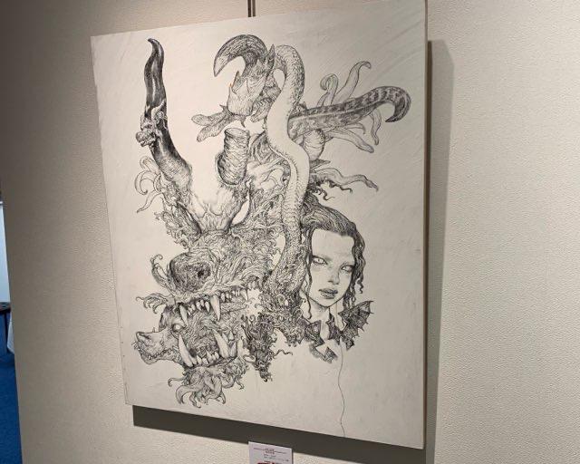 幻獣神話展Ⅶ_寺田克也さんの作品