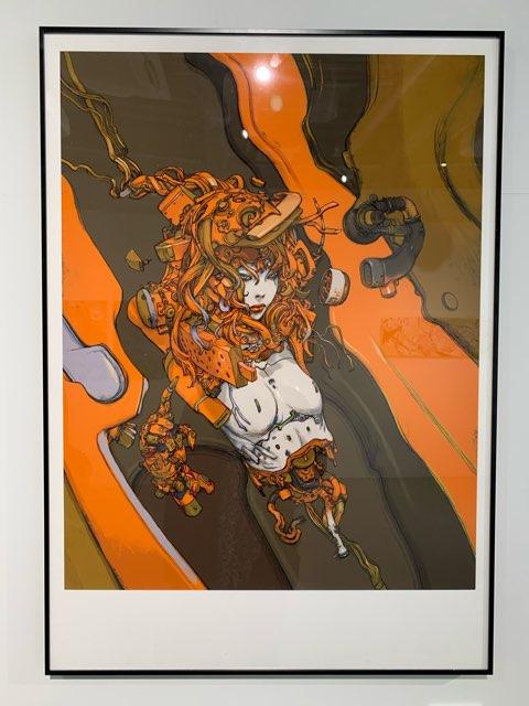 EFFECT展の寺田克也さんの絵