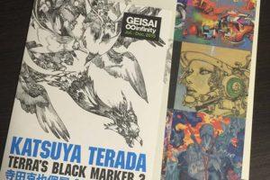 「terra's Black Marker 2」2015年Hidari Zingaroで寺田克也個展