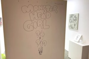 「Monster Head Girl」寺田克也個展、Hidari Zingaro(中野)で開催